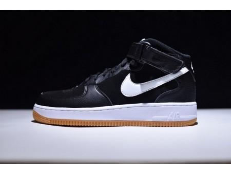 """Nike Air Force 1 Mid 07 """"Zwart Wit"""" Gum 315123-035 voor heren"""
