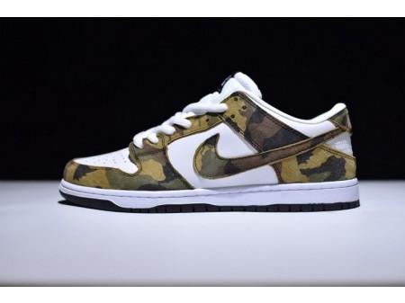 Nike Dunk Low Elite Sb Camo Legion Groen 854866-331 voor heren en dames