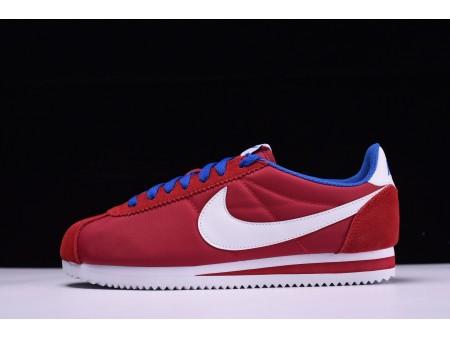 Nike Classic Cortez Oxford-stof Gym Rood 488291-615 voor heren en dames