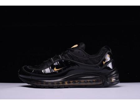Nike Air Max 98 Zwart Geel 640744-080 voor heren