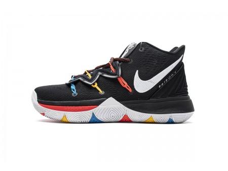 Nike Kyrie 5 EP BRosso Nero Bianco Rosso AO2919 600 Uomo