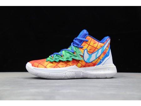 "Scarpe da basket Nike Kyrie 5 x SpongeBob ""Pineapple House"" CJ6951-800 Uomo"