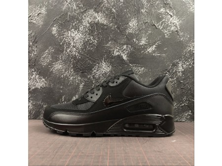 Nike Air Max 90 Triple Nere 537384-090 Uomo Donna