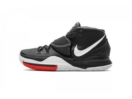 Nike Kyrie 6 EP Nero Bianco BQ4631 001 Uomo
