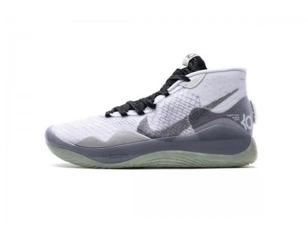 Nike Zoom KD12 TB Bianco/Nero Team Pack CN9518-100 Uomo