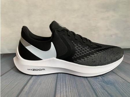 Nike Zoom Winflo 6 Nero Grigio AQ7497-001 Uomo Donna