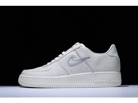 Nike Lab Air Force 1 Low Jewel Sail Swoosh Bianco 941912-100 per uomo e donna