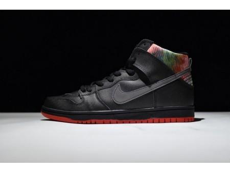 SPoT x Nike Sb Dunk High Spot Gasparilla Nero 313171-028 per uomo