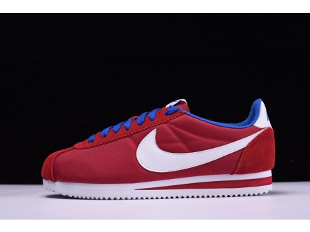 Palestra Nike Classic Cortez Oxford in tessuto rosso 488291-615 per uomo e donna