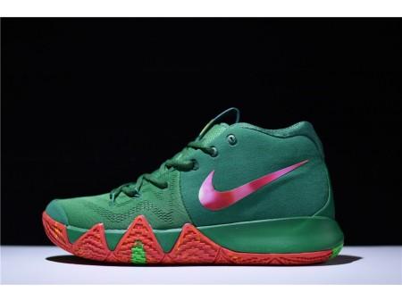 Nike Kyrie 4 EP London Owen Verde 943807-611 da uomo