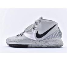 Nike Kyrie 6 EP Grau Schwarz Weiß BQ9377-101 Herren