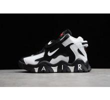 Nike Air Barrage Mid QS Peak Blanc-Coal Ball Noir Sport Rouge CD9329-011 Hommes et Femmes