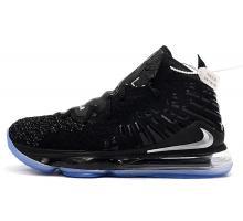 Nike LeBron 17 Negro/Plata metalizado Hombres Mujer