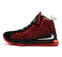 Nike LeBron 17 'BRojo' Negro/Rojo Universidad-Blanco Hombres Mujer